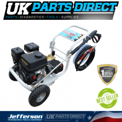Jefferson Tools 6.5 HP Gearbox Petrol Washer