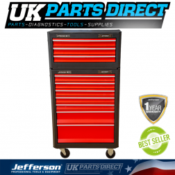 Jefferson Tools 7 + 3 Drawer Professional Tool Chest