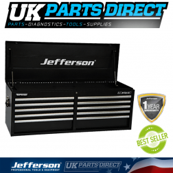 Jefferson Tools 12 Drawer Top Tool Chest