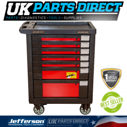 Jefferson Tools 7 Drawer Professional Tool Chest