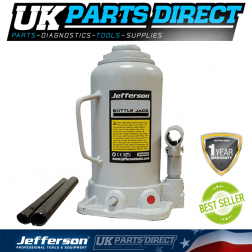 Jefferson Tools 30 Tonne Hydraulic Bottle Jack (Low Profile)