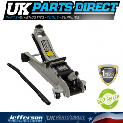 Jefferson Tools 2 Tonne Low Profile Trolley Jack