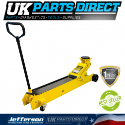 Jefferson Tools Tundra 10 Tonne Long Reach Trolley Jack