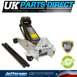 Jefferson Tools 3 Tonne Garage Jack