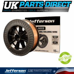 Jefferson Tools 0.8mm 15kg MIG Welding Wire