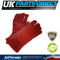 "Jefferson Tools 14"" Welding Gauntlets"