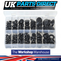 Blanking & Wiring Grommets - 230 Pieces - Assorted Box
