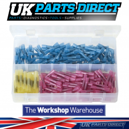 Heat Shrink Terminals - Adhesive Lined - Butt Connectors - 220 Pieces