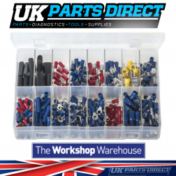 Insulated Terminals - 340 Pieces - Assorted Box
