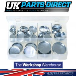 Core Plugs - Cup Type - Imperial - 38 Pieces - Assorted Box
