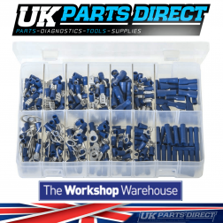 Insulated Terminals - Blue - 280 Pieces - Assorted Box