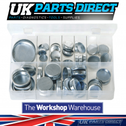 Core Plugs - Cup Type - Metric - 60 Pieces - Assorted Box