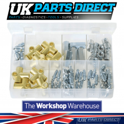 Brake Tubing Connectors & Brake Bleed Screws - UNF & Metric - 63 Pieces
