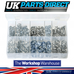 Brake Shoe Hold-Down Kit - 200 Pieces - Assorted Box
