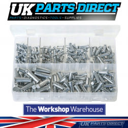 Clevis Pins - 200 Pieces - Assorted Box