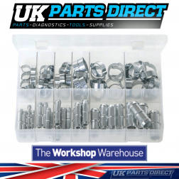 Pipe Repair Kits - 72 Pieces - Assorted Box
