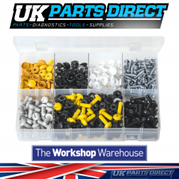 Number Plate Fasteners - 240 Pairs - Assorted Box
