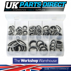 Bonded Seals (Dowty Washers) - BSP - 100 Pieces - Assorted Box