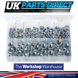 Steel Nuts - Metric - 275 Pieces - Assorted Box