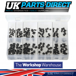 Grub Screws - UNF Black - 225 Pieces - Assorted Box