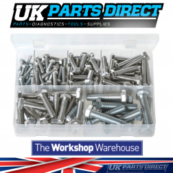 Set Screws - High Tensile - Metric Fine - 140 Pieces - Assorted Box