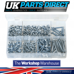 M6 Fasteners - 485 Pieces - Assorted Box