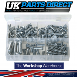 Set Screws - High Tensile - UNF - 150 Pieces - Assorted Box