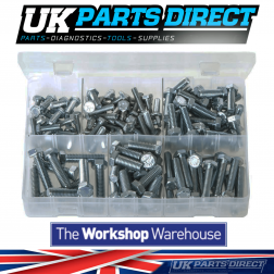 Set Screws - High Tensile - UNC - 150 Pieces - Assorted Box