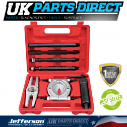 Jefferson Tools 10 Piece Hydraulic Puller Set