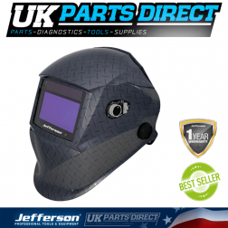 Jefferson Tools Tread Plate Style Automatic Welding Helmet