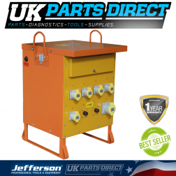 Jefferson Tools 10kVA Three-Phase Transformer
