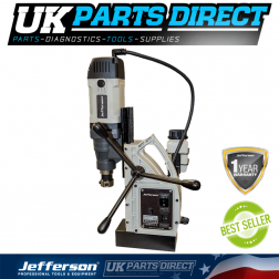 Jefferson Tools 40mm Industrial Magnetic Drill (110V)