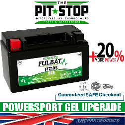 BMW C600 Sport (2012->) FULBAT UPGRADE BATTERY - FTZ10S - YTZ10S