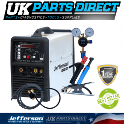 Jefferson Tools 200 Amp HF Pulse AC/DC TIG Welder (230V)
