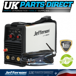 Jefferson Tools 200 Amp HF TIG Welder (Dual Voltage)