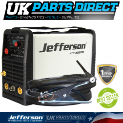Jefferson Tools 200 Amp HF Pulse TIG Welder (230V)
