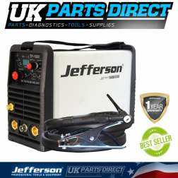 Jefferson Tools 160 Amp HF Pulse TIG Welder (230V)