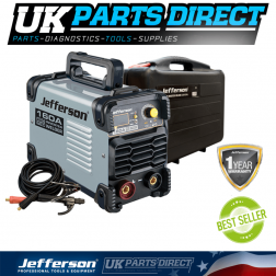 Jefferson Tools 160 Amp ARC TIG Inverter Welder (230V)