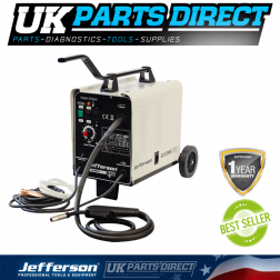 Jefferson Tools 151 Amp Gas / No Gas MIG Welder (230V)