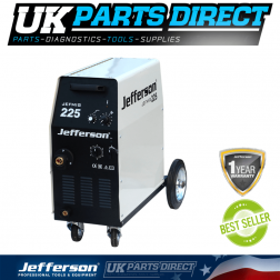 Jefferson Tools 225 Amp MIG Welder (230V)
