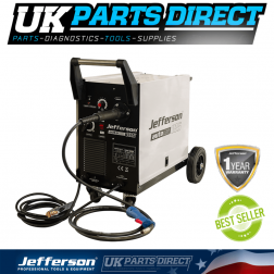 Jefferson Tools 185 Amp MIG Welder (230V)
