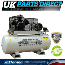 Jefferson Tools 270 Litre 10HP Compressor - 2 YEAR WARRANTY - JEFCIND270L-10.0