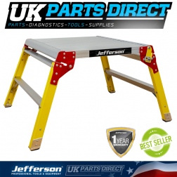 Jefferson Tools 600mm Wide 2 Tread Fibreglass Work Platform