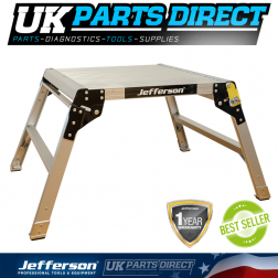 Jefferson Tools 600mm Wide 2 Tread Aluminium Work Platform