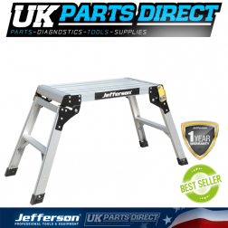 Jefferson Tools 300mm Wide 2 Tread Aluminium Work Platform