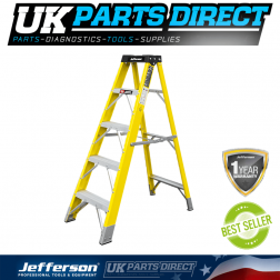 Jefferson Tools 4+1 Tread Fibreglass Step Ladder