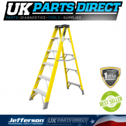 Jefferson Tools 5+1 Tread Fibreglass Step Ladder