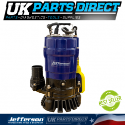 Jefferson Industrial 500W 110V Submersible Water Pump For Pond / Pool / Flood - JEFSUBPIDW210-12