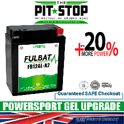BMW F650GS (08-12) FULBAT GEL UPGRADE BATTERY - YB12AL - FB12AL