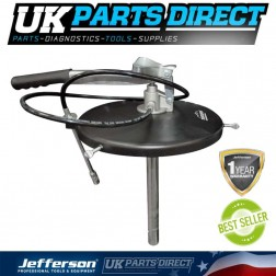 Jefferson Tundra 12.5kg High Pressure Grease Pump Bucket Top Greaser - TUNHPGP-125